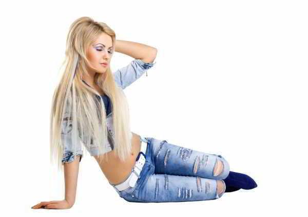 Рваные джинсы - своими руками