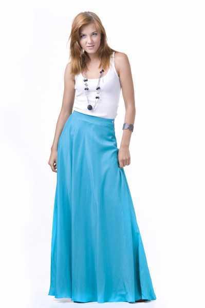 C чем носить пышную юбку и выглядеть стильно