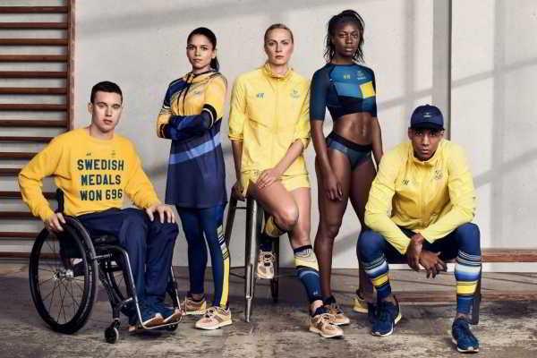 Парадная олимпийская форма 2016